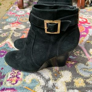 Tory Burch suede boots